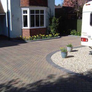 Block paving driveway designs in Staffordshire | Driveways