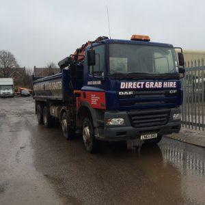 Grab truck hire Cannock