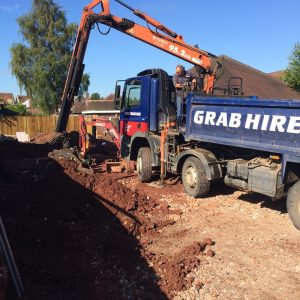 Grab truck hire Cannock Chase