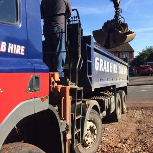 Grab truck hire Staffordshire