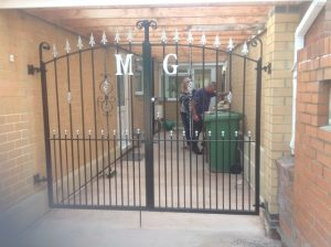 Wrought iron gates and railings from Direct Drives, Paths & Patios Ltd